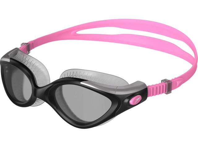 speedo Futura Biofuse Flexiseal Lunettes de protection Femme, galinda/silver/smoke